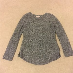 Banana republic sweater with zipper on side